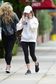 Ashley Tisdale Arrives at Training Mate in Studio City 2019/04/29 11