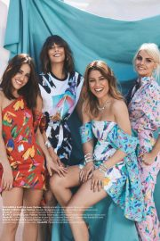 Blanca Suarez, Belen Cuesta, Macarena Garcia and Amaia Salamanca in Instyle Magazine, Spain May 2019 1