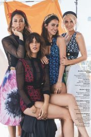 Blanca Suarez, Belen Cuesta, Macarena Garcia and Amaia Salamanca in Instyle Magazine, Spain May 2019 3
