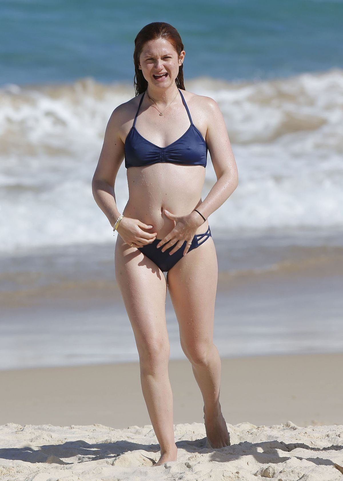 Bonnie Wright in Bikini at Bondi Beach in Sydney 2019/04/13 1