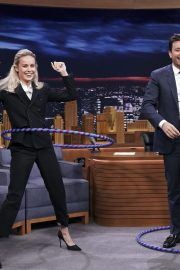 Brie Larson at The Tonight Show with Jimmy Fallon 2019/04/24 1