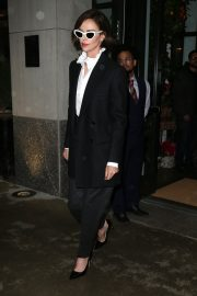 Charlize Theron Out a Midtown Hotel in New York 2019/04/30 2