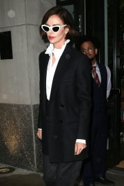Charlize Theron Out a Midtown Hotel in New York 2019/04/30 9