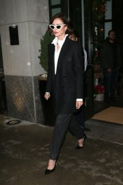 Charlize Theron Out a Midtown Hotel in New York 2019/04/30 10