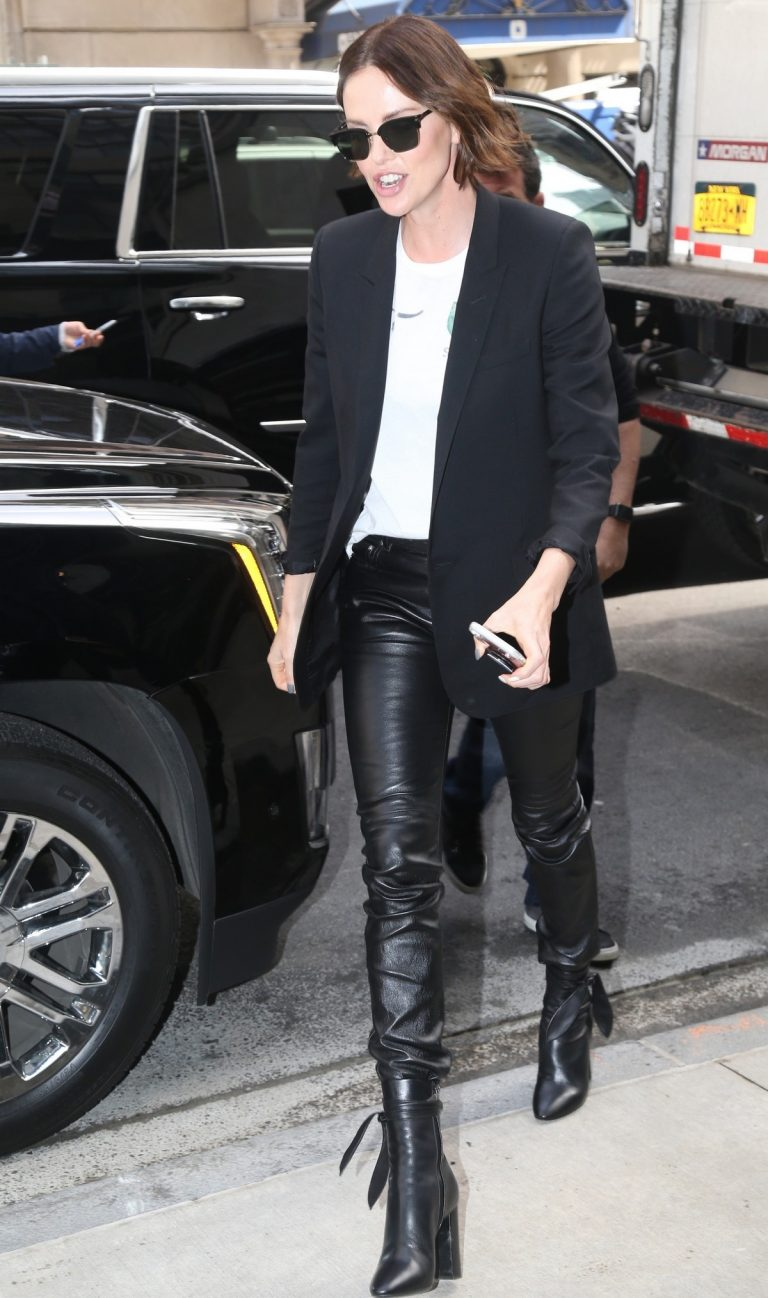 """Charlize Theron Promotes """"Long Shot In New York 2019/04/29 1"""