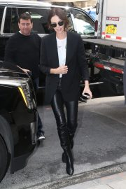"""Charlize Theron Promotes """"Long Shot In New York 2019/04/29 17"""