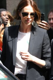 """Charlize Theron Promotes """"Long Shot In New York 2019/04/29 30"""