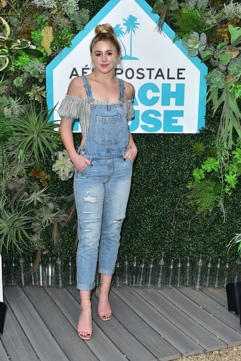 Chloe Lukasiak at Aero x Repreve Eco Friendly Collection with Performance by Justine Skye 2019/04/26 1