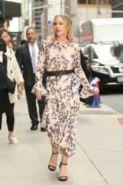 Christina Applegate at The Late Show with Stephen Colbert in New York 2019/04/29 12