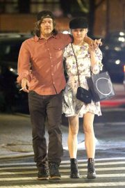 Diane Kruger and Norman Reedus Out for Dinner in New York 2019/04/25 3