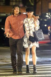 Diane Kruger and Norman Reedus Out for Dinner in New York 2019/04/25 5