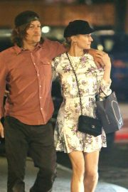 Diane Kruger and Norman Reedus Out for Dinner in New York 2019/04/25 7