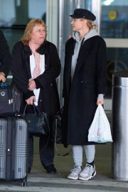Diane Kruger Arrives at JFK Airport with her mother in New York 2019/04/29 7