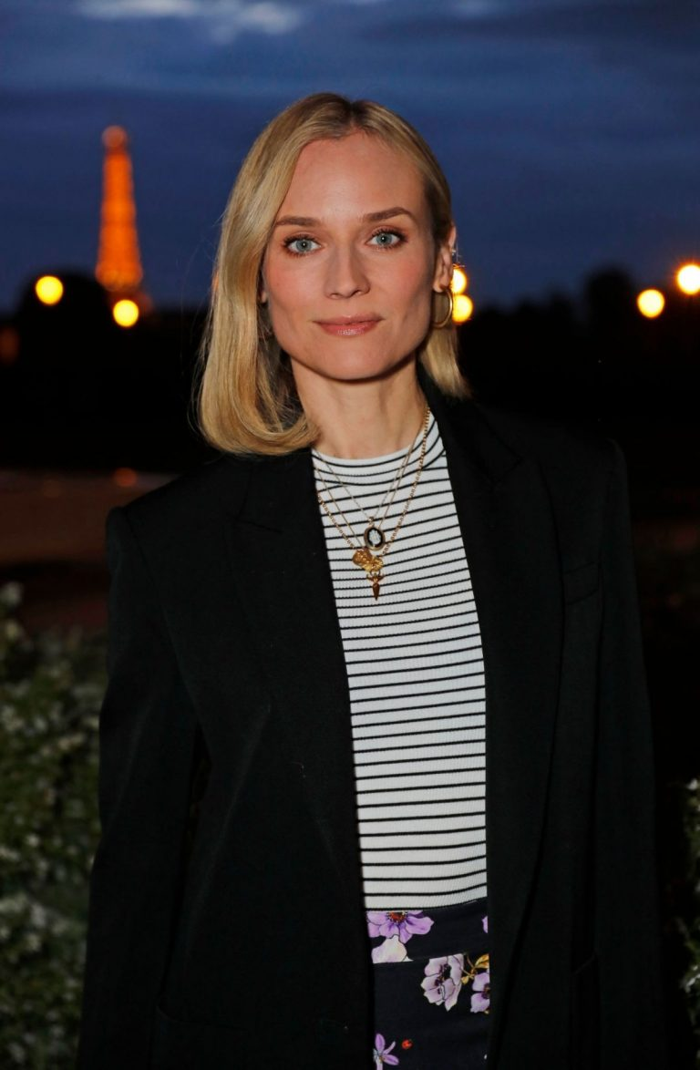 Diane Kruger Out for Dinner at Loulou in Paris 2019/04/26 1