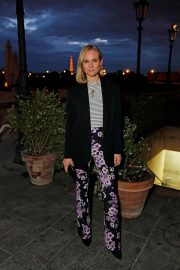 Diane Kruger Out for Dinner at Loulou in Paris 2019/04/26 2