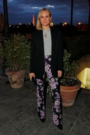 Diane Kruger Out for Dinner at Loulou in Paris 2019/04/26 3