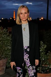 Diane Kruger Out for Dinner at Loulou in Paris 2019/04/26 6