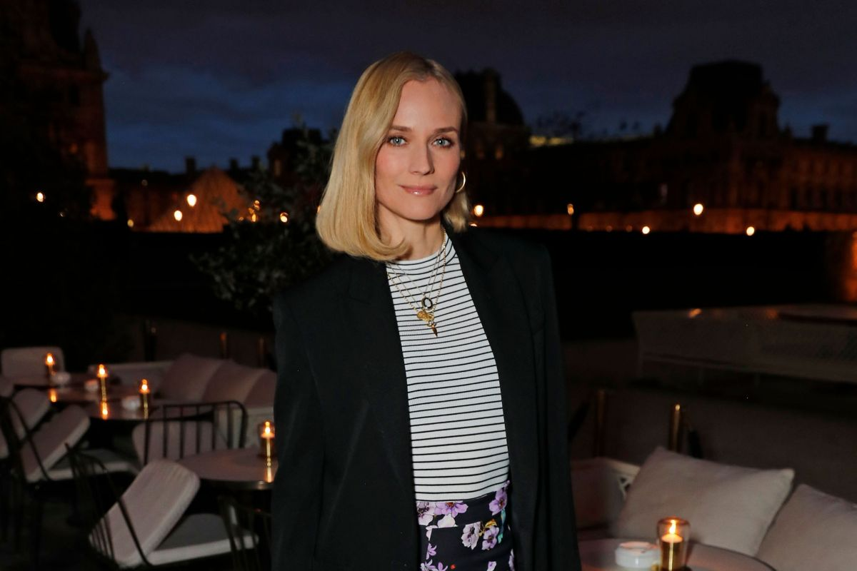 Diane Kruger Out for Dinner at Loulou Restaurant in Paris 2019/04/26 1
