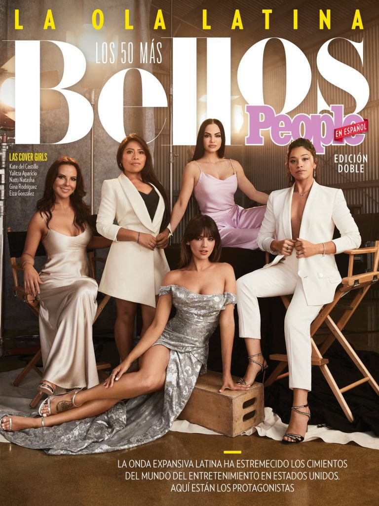 Eiza Gonzalez, Kate del Castillo, Natti Natasha, Yalitza Aparicio Martinez & Gina Rodriguez at People en Espanol, June/July 2019 1