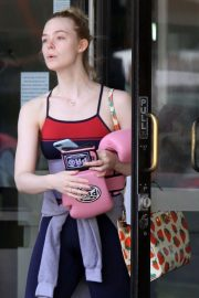 Elle Fanning Leaves Boxing Workout in Rancho Santa Margarita 2019/04/20 4