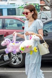 Emma Roberts and Garrett Hedlund Out on Easter in Los Angeles 2019/04/21 2