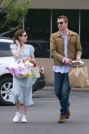 Emma Roberts and Garrett Hedlund Out on Easter in Los Angeles 2019/04/21 10
