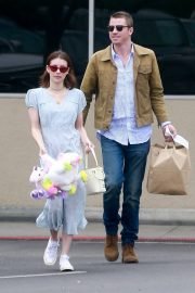 Emma Roberts and Garrett Hedlund Out on Easter in Los Angeles 2019/04/21 11