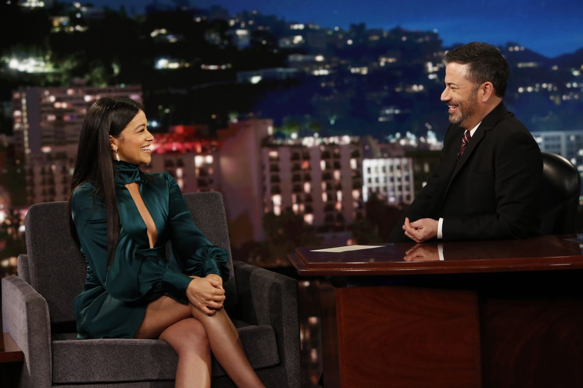 Gina Rodriguez at Jimmy Kimmel Live 2019/04/17 1