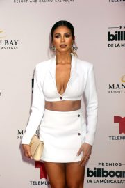 Greice Santo at 2019 Billboard Latin Music Awards Press Room in Las Vegas 2019/04/25 2