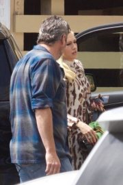 Gwen Stefani and Blake Shelton at a Church in Los Angeles 2019/04/21 1