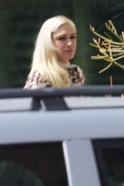 Gwen Stefani and Blake Shelton at a Church in Los Angeles 2019/04/21 5
