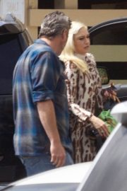 Gwen Stefani and Blake Shelton at a Church in Los Angeles 2019/04/21 7