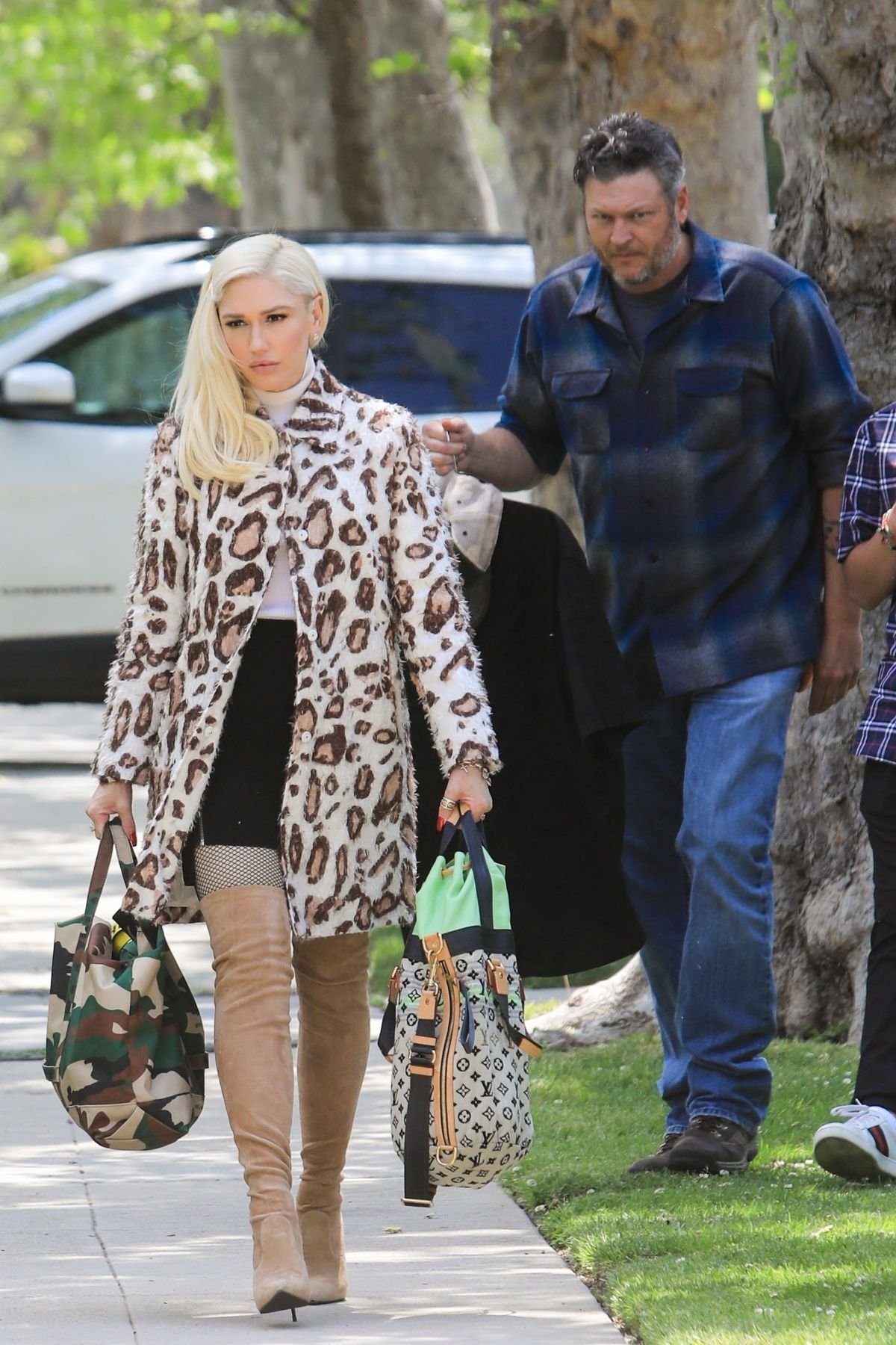 Gwen Stefani Arrives at Her Parents House in Los Angeles 2019/04/21 1