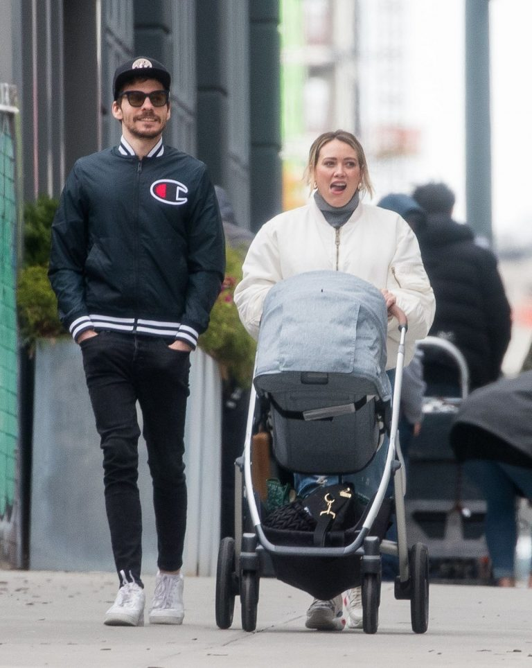 Hilary Duff and Matthew Koma Out in New York 2019/04/29 1