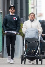 Hilary Duff and Matthew Koma Out in New York 2019/04/29 2