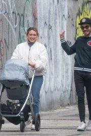 Hilary Duff and Matthew Koma Out in New York 2019/04/29 8
