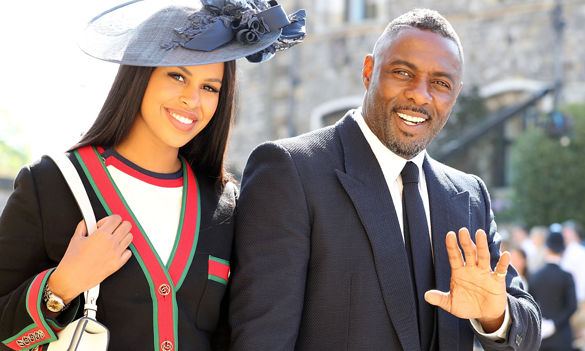 Idris Elba Marries To Sabrina Dhowre In Morocco 1