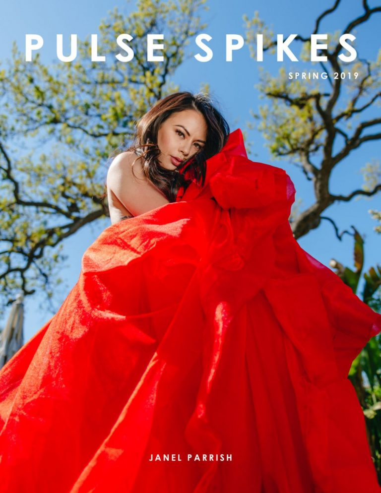 Janel Parrish in Pulse Spikes Magazine, Spring 2019 1