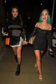 Jemma Lucy and Helen Briggs Night Out in Manchester 2019/04/20 4