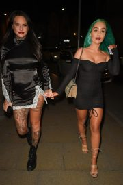 Jemma Lucy and Helen Briggs Night Out in Manchester 2019/04/20 10