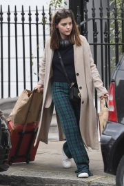 Jenna Coleman Shopping Out in London 2019/04/30 10
