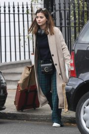Jenna Coleman Shopping Out in London 2019/04/30 11