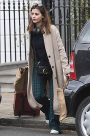 Jenna Coleman Shopping Out in London 2019/04/30 12