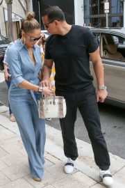 Jennifer Lopez and Alex Rodriguez Out for Lunch in Miami 2019/04/20 10