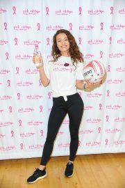 Jess Impiazzi at Celebrity Pink Charity Netbal Match in London 2019/04/27 1