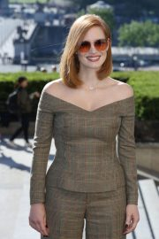 Jessica Chastain at X-Men: Dark Phoenix Photocall in Paris 2019/04/26 5