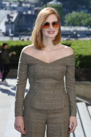 Jessica Chastain at X-Men: Dark Phoenix Photocall in Paris 2019/04/26 10