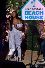 Justine Skye at Aero x Repreve Eco Friendly Collection with Performance by Justine Skye 2019/04/26 3