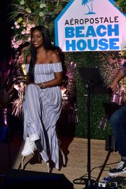 Justine Skye at Aero x Repreve Eco Friendly Collection with Performance by Justine Skye 2019/04/26 4
