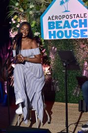 Justine Skye at Aero x Repreve Eco Friendly Collection with Performance by Justine Skye 2019/04/26 6